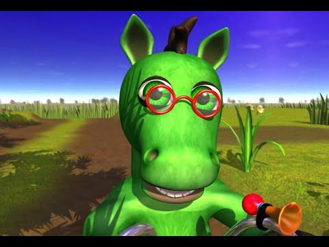 Cavalo Verde - A Fazenda Do Zenon 2   O Reino Das Crianças