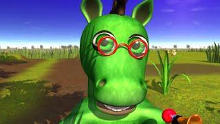 Cavalo Verde - A Fazenda do Zenon 2 O Reino das Criancas