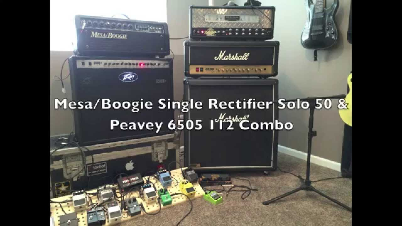 Mesa Boogie Single Rectifier Vs Peavey Metal