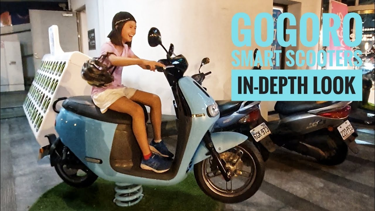 Gogoro Smart Scooters. next big thing in city commute! In-depth look at their 3 model lines. - YouTube