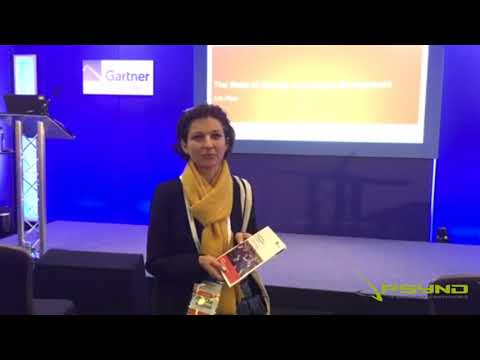 Maria Bicsi From Gartner Security Summit In London