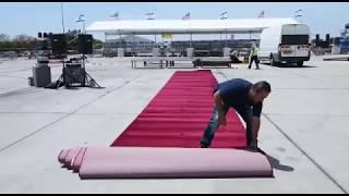 Israel Preparing for Arrival Ceremony for President Donald Trump