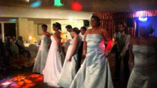 Ian and Claires Funny Bridal Party Dance.wmv