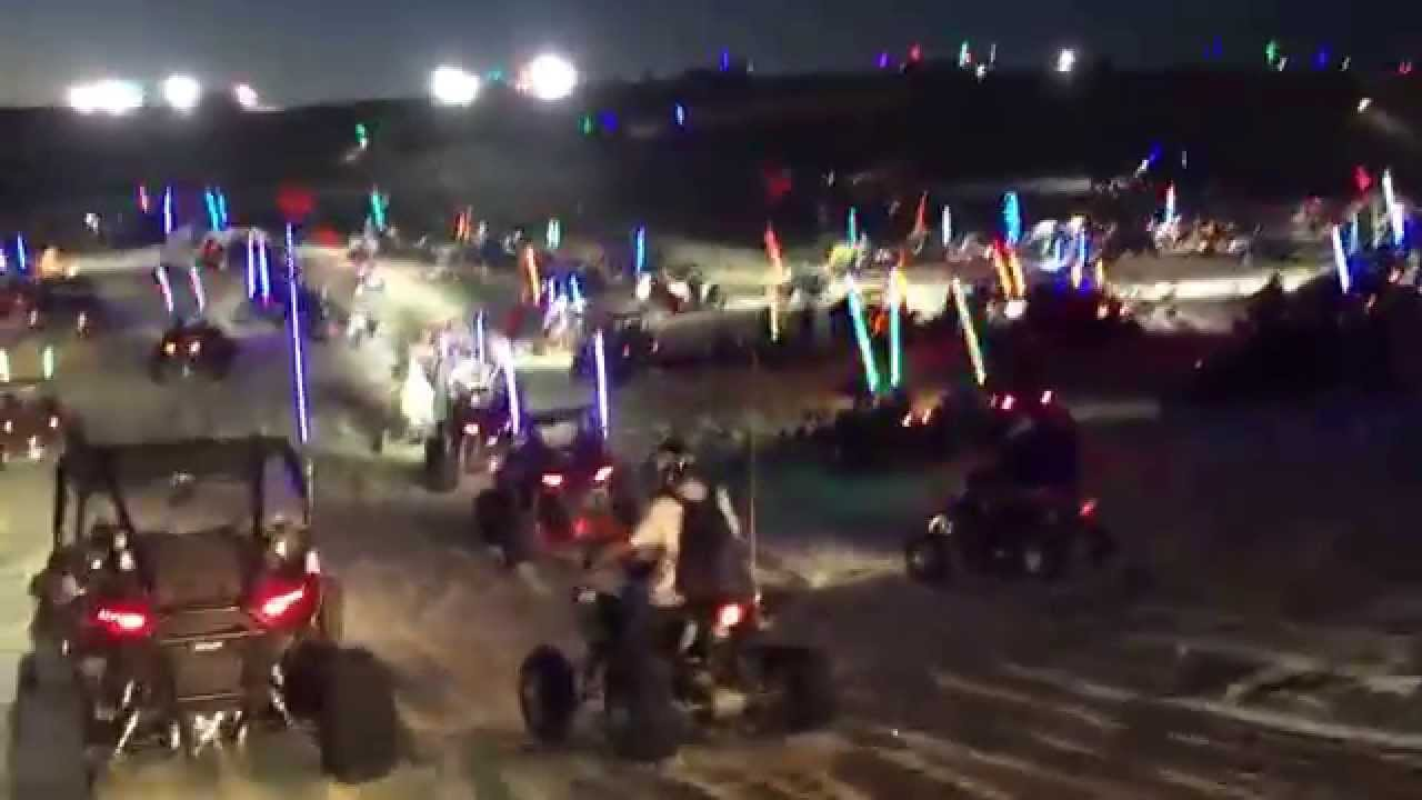 Polaris Side By Side >> Dune fest 2015 Friday night ride in a Polaris rzr xp1 ...
