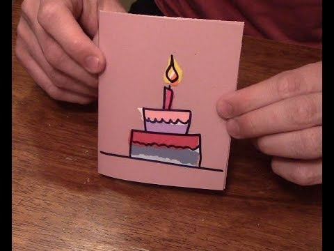 How To Make A Birthday Card In Under 10 Minutes Youtube