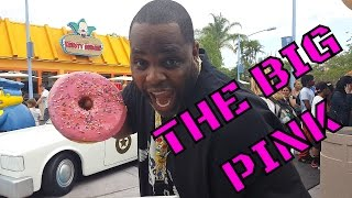 DONUT THE SIZE OF YOUR FACE (LARD LAD DONUT) Universal Studios Orlando