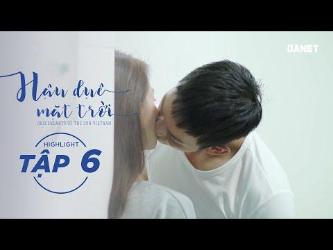 Hậu Duệ Mặt Trời VN Tập 06 - Phương & Kiên, Nụ hôn đầu đầy rung cảm