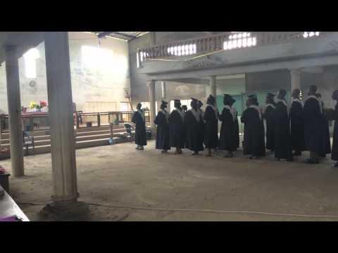 Protestant Priests Debating at Church, Benin, West Africa