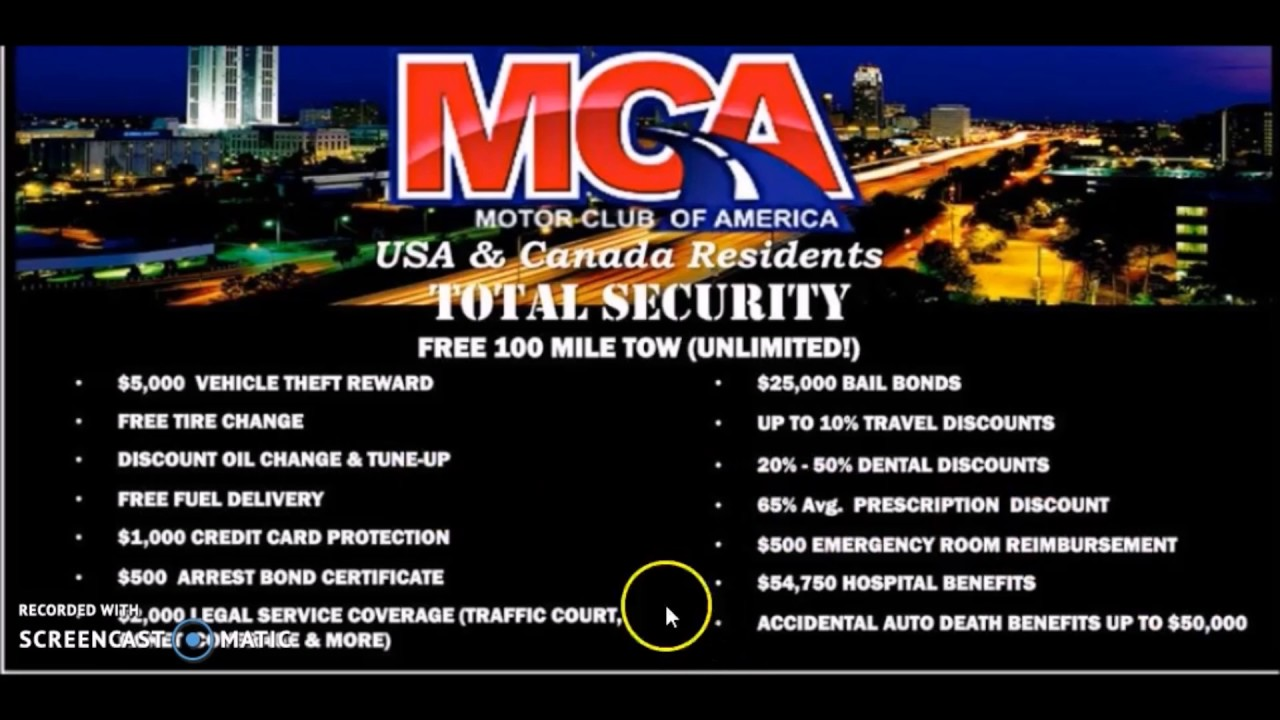 Motor Club Of America Review Scam Bonuses Proof