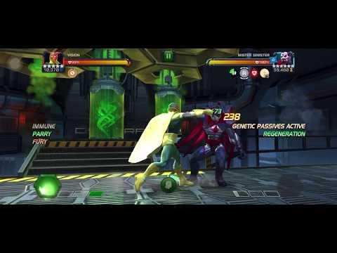 Vision vs 6.2.2 Mr Sinister [One shot (warlock synergy)]