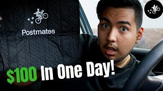 How I Made 0 In A Day With Postmates! - My Second Day Delivering With Postmates
