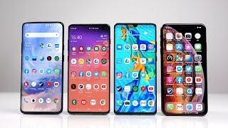 OnePlus 7 Pro vs Samsung Galaxy S10+ vs Huawei P30 Pro vs Apple iPhone Xs Max: Benchmark   SwagTab