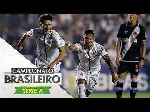 Melhores Momentos - Gols de Vasco 2 x 5 Corinthians - Campeonato Brasileiro (07/06/2017)