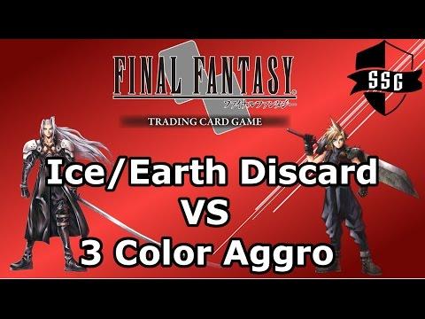 FFTCG Duel Series - Ice/Earth Discard VS 3 Color Aggro