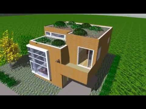 Small modern home design, affordable and stylish