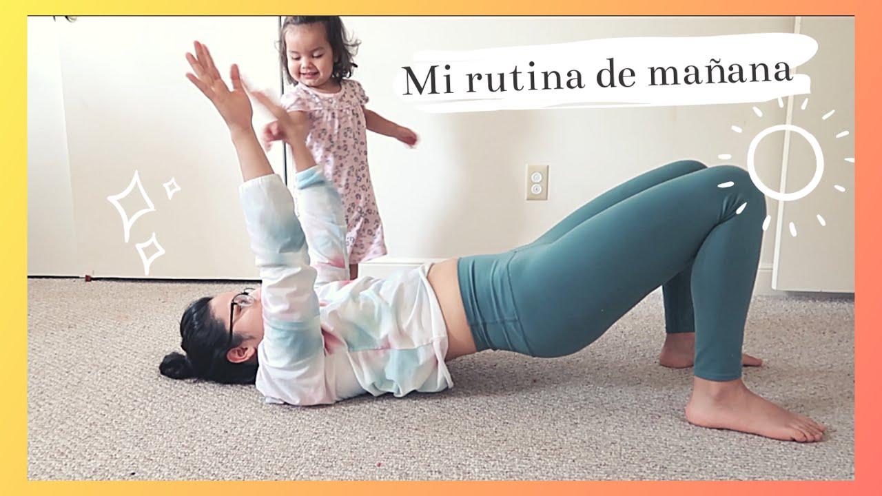 MI RUTINA DE MAÑANA CON MI BEBÉ de 2 años l @CORINA_CEREN