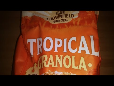 Lidl crownfield tropical Granola review