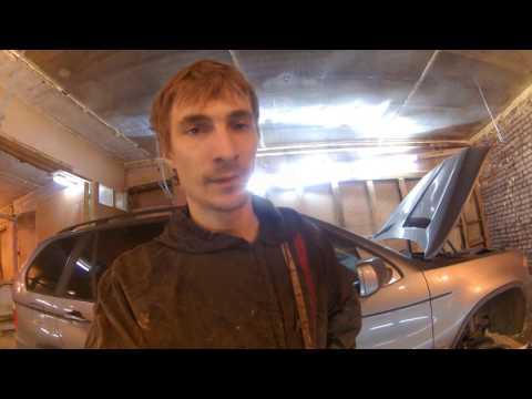 BMW x5 e53 снятие и ремонт рулевой рейки, боремся с тугим рулём часть1