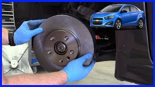 How to Replace Brake Pads and Rotor Chevrolet Sonic 2009-2015