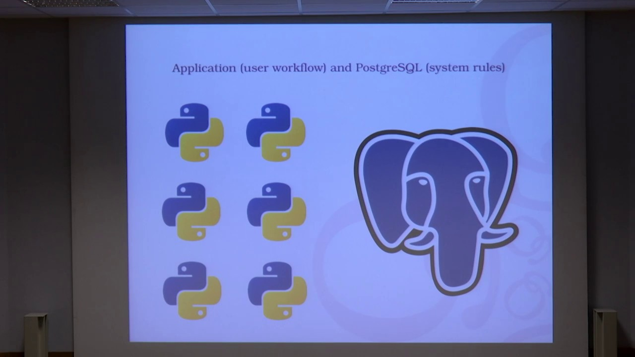 Image from Python and PostgreSQL: let's work together!
