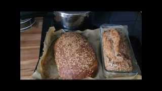 Brot ganz einfach selber backen: Zwiebelbrot & Vollkornbrot - ganz einfach - Brotrezept