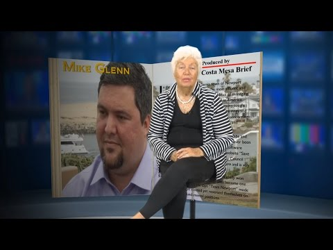 Mike Glenn – Candidate Newport Beach City Council 2016