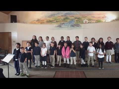 Vista Hermosa Elementary School Choir Sings-No Longer Slaves
