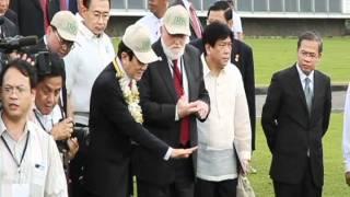 Vietnamese president visits IRRI, 27 October 2011