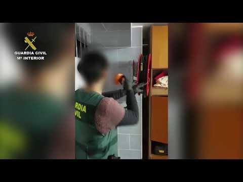 Desmantelan un taller clandestino de armas de fuego en Pazos de Borbén