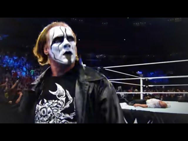 Stings WWE Debut at Survivor Series 2014