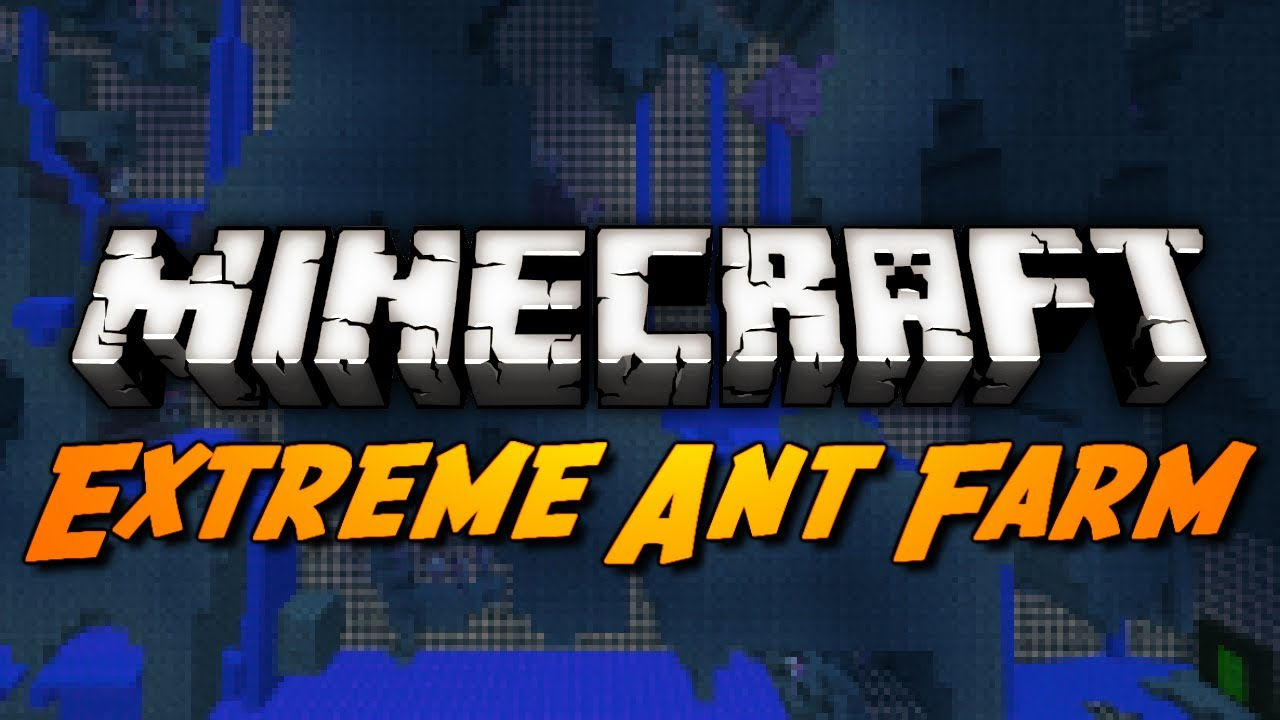 Minecraft tutorial how to download extreme antfarm survival! Youtube.