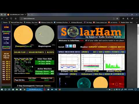 Solar activity and Propagation outlook week of April 23rd 2018