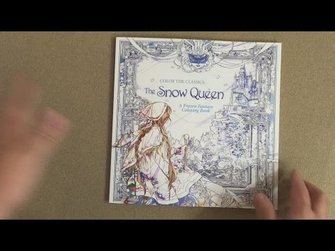 Color the Classics: The Snow Queen: A Frozen Fantasy Coloring Book ...