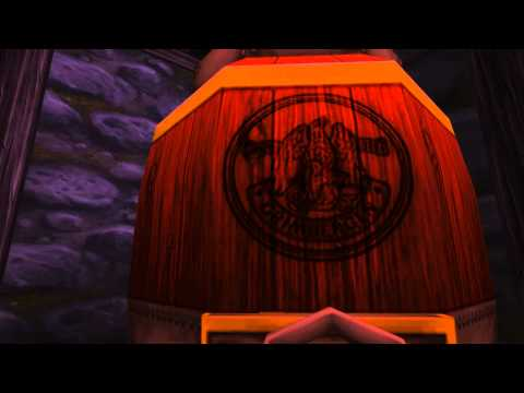 Grimbergen Beer Barrels - World of Warcraft Easter Egg