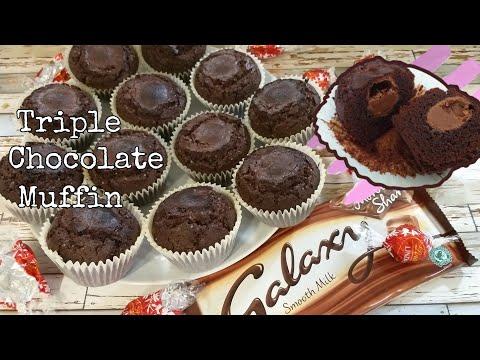 Lindt Galaxy Chocolate Muffin    Triple Chocolate Muffin    AU DEE