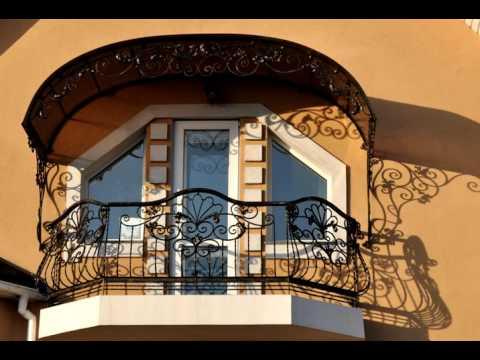 Перила 81  Кованые балконные перила в Днепропетровске фото перил для балкона Днепр ковка