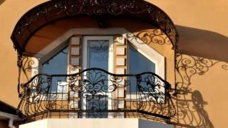 видео Кованые металлические балконы, балконные ограждения и перила