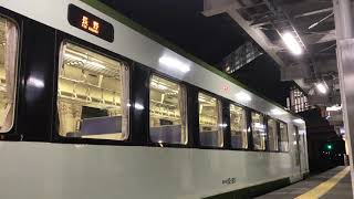 JR飯山線 飯山駅 キハ111・112発車