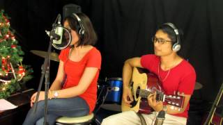 Trouble is a friend Acoustic Cover by Mel and Ivan