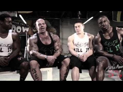Bodybuilder TALK: FOOD n' DIET Pre Comp - Rich Piana   Fc BodyBuilding