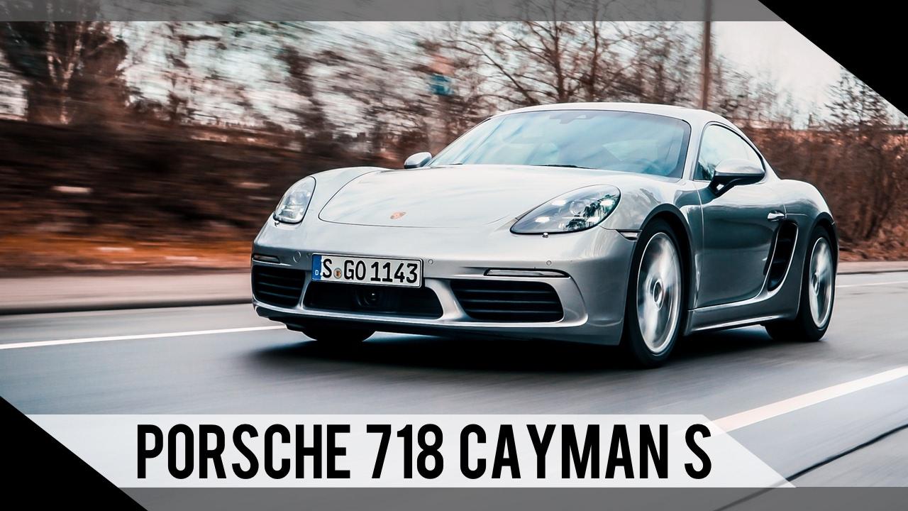 Porsche 718 Cayman S 2016 2017 Test Review Fahrbericht Motorwoche