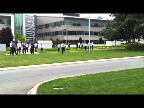 Obama Motorcade in Canberra