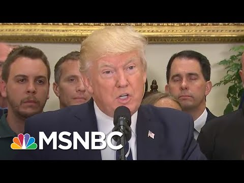 President Donald Trump Makes Remarks On Steve Scalise's Recovery, Other Shot In Virginia | MSNBC
