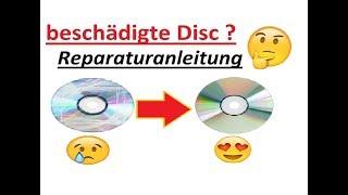 Defekte/unlesbare CD/DVD reparieren TUTORIAL by Joachim & Norbert