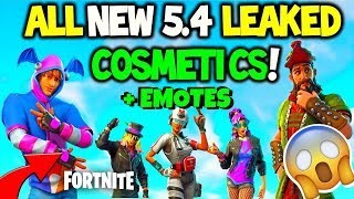*ALL NEW* Fortnite Leaked Skins + Emotes! Fortnite Battle Royale Patch 5.40