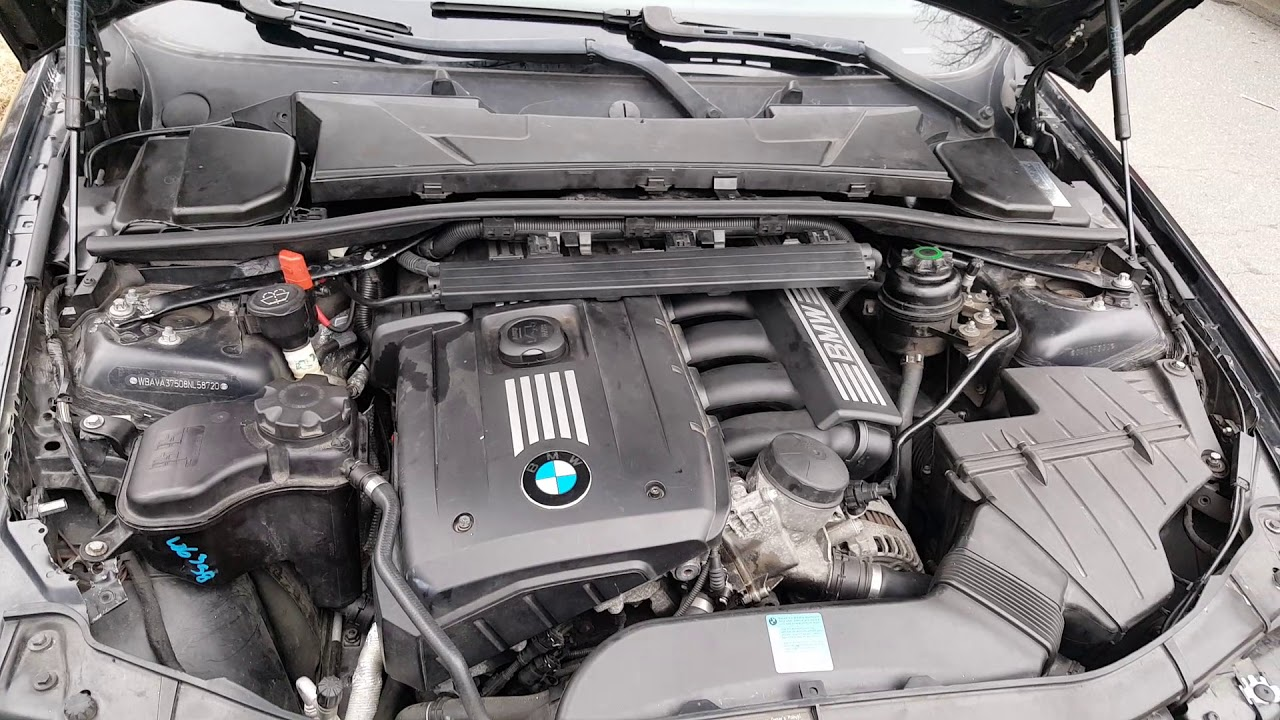 MUSICA CRISTIANA 08 bmw 328i part 1 misfire bad pcv valve oil in