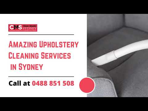 Amazing Upholstery Cleaning Services  in Sydney | Sofa Cleaning Services | Clean Master Sydney
