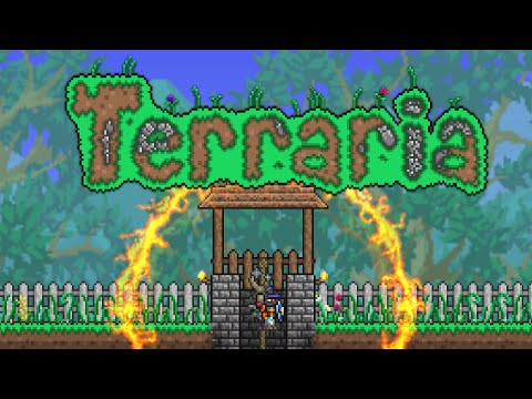 Terraria 1.3.1 - Down The Well - Full Adventure Map!