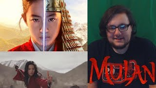 Mulan  Official Final Trailer REACT ON