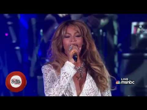 Jay Z & Beyoncé - Forever Young (Global Citizen Festival 2014)